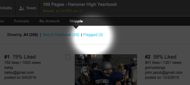 Connecting Skipple to Picaboo Yearbooks Designer
